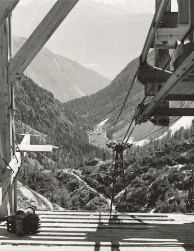 Vue en direction du vallon de Van depuis la gare en amont du téléphérage. © Alpiq
