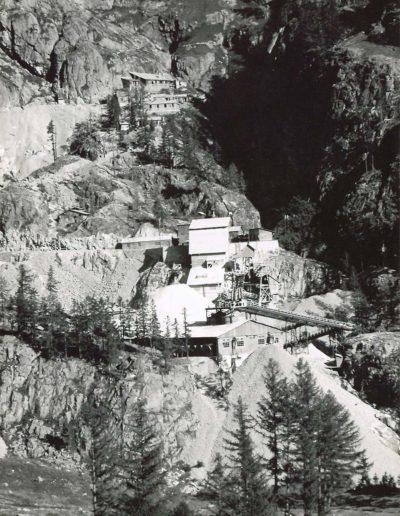 Vue générale du chantier au vallon de Van, vue aval. © Alpiq