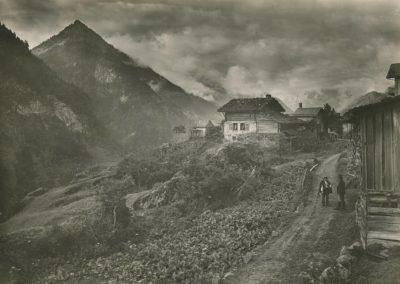 Finhaut, vers 1920. © Fonds Boissonnas, Bibliothèque de Genève
