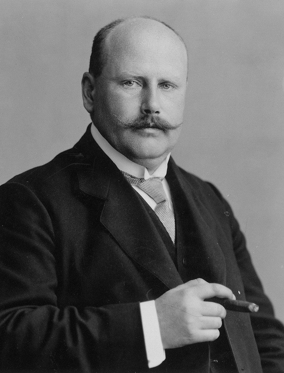 Heinrich Wild en 1919